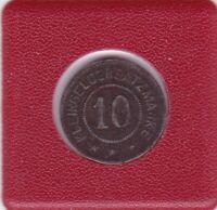 10 Pfennig Ettenheim 1919 Stadtgemeinde Baden Ortenaukreis Notgeld Notmünze