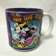 Disney The Brave Little Tailor Mug Coffee Cup Mickey Minnie Mouse Kissing Japan