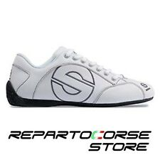SCARPA SCARPE SPARCO - MODELLO ESSE - PELLE BIANCA - 001201 TAGLIA 46