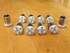 10 White Fits Studebaker BRIGHT 12V LED Instrument Panel Light Bulb Lamp 57 NOS