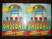 1990 Fleer Baseball 2 Wax Box Lot - Case Fresh! PSA 10 Griffey Sosa Thomas ?
