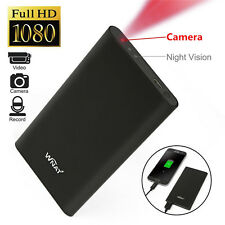 Mini HD 1080P DVR Hidden SPY Camera Power Bank Night Vision Video Recorder Cam
