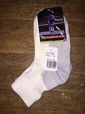 vintage russell athletic PLUSH acrylic ankle socks mens size 10-13 deadstock NWT