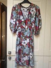 Femmes Robe à Fleurs Par London Rebel Taille M