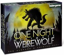 One Night Ultimate Werewolf Card Game - Brand New & Sealed - English Version
