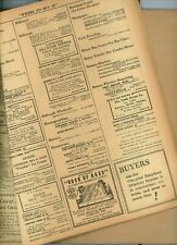1939 MONMOUTH COUNTY NJ TELEPHONE DIRECTORY super YELLOW PAGES for REFERENCE