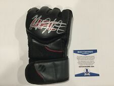Khabib Nurmagomedov Signed Autographed UFC Glove Beckett BAS COA The Eagle h