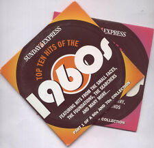TOP TEN HITS OF THE 1960s & 1970s PROMO 2 CD SET: SMALL FACES, ALAN PRICE ETC