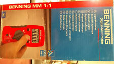 Digital Multimeter MM 1-1 von Benning, Neu unbenutzt originalverpackt