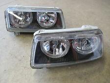 DEPO Scheinwerfer ANGEL EYES für VW Passat 35i FACELIFT schwarz Beleuchtung
