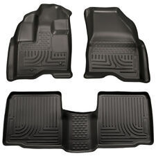 HUSKY WeatherBeater Floor Mats for 11-14 Ford Explorer All Front & 2nd Row 98761