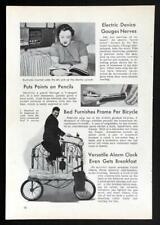 Joe Steinlauf Bedstead Bike 1940 vintage pictorial Chicago Freakbikes
