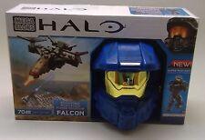 "Mega Bloks Halo Micro Fleet ""Falcon"" UNSC Spartan MK VI -  70pcs - New"