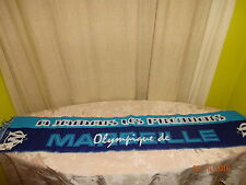 "Olympique Marseille Original Fan Schal ""OLYMPIQUE DE MARSEILLE"" Neu"
