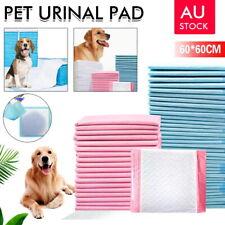 50/100/200/400 Puppy Pet Dog Cat Toilet Training Pads 60X60CM Absorbent AU