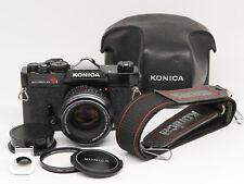 Konica Autoreflex T3 (black) w/Hexanon 50mm 1:1.7 - Excellent vintage condition