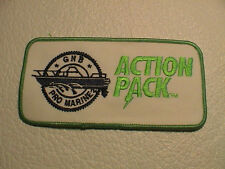GNB PRO MARINE ACTION PACK BATTERIES BOAT FISH FISHING TACKLE ROD REEL PATCH NEW