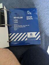 New Holland L250 L255 Skid Steer Loader Service Repair Shop Amp Maintenance Manual