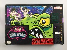 Joe & Mac (Super Nintendo, 1992) Box and Cartridge Only USED