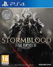 Final Fantasy XIV Stormblood PS4 Playstation 4 IT IMPORT SQUARE ENIX