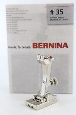 Original BERNINA Invisible Zip Foot Zipper Foot No. 35 for Older Models