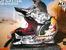O'Neal Moto XXX OG Character Helm Schwarz Weiß Motocross Enduro KTM Honda Fox XL