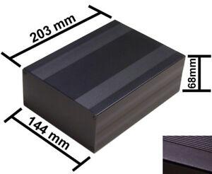 Aluminum Project Box Enclosure Case 21 Variations Black or Silver 2 PCS
