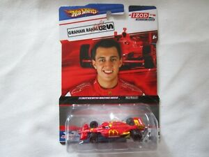 Hot Wheels Izod Indy Car Series Graham Rahal #02 Honda Racing 1:64 Diecast Promo