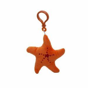 "Wild Republic Key Clip Sea Star 3"" Soft Plush Keyring"