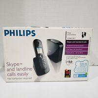 Philips Internet Phone NIB Skype and landline calls easily 2007 no computer need