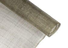 Stiffened Sinamay Millinery Fabric - Stone - 1 Meter x 90cm