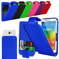 Adjustable PU Leather Flip Case Cover For Lenovo Vibe P1m