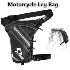 Waterproof Motorcycle ATV Leg Bag Hip Thigh Pack Waist Pouch Travel Accessories