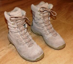 Men's Converse Athletic Military Boots High-tops Athletic Shoes Desert Tan Sz 8