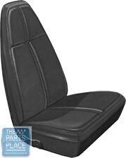1971 Barracuda / Cuda Standard White Front Bucket Seat Covers - PUI