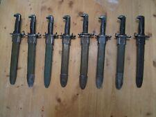 Original M-1 Garand bayonet Us marked w/ scabbard Very Good Quality