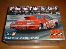 2013 REVELL Model MOTOR SPORTS MOTORCRAFT T-BIRD PRO STOCK Kit #85-4098