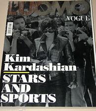 L'UOMO VOGUE MAGAZINE=2012/432=KIM KARDASHIAN=STARS AND SPORTS=