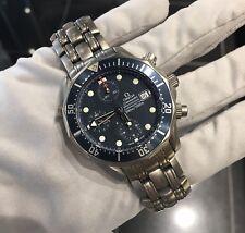 Omega Seamaster 300M Titanium 1780504 Automatic Chronograph Diver Watch RARE