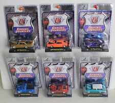 1:64 M2 Machines Ground Pounders release #1, just opened case of 6 - no CHASE