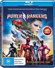 Power Rangers - The Movie (Blu-ray, 2017) NEW