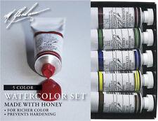 M Graham Watercolour Basic Set of 5 - 15 ml tubes