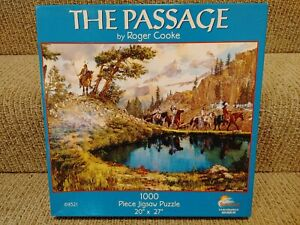 """SunsOut The Passage by Roger Cooke 1000 Piece 20"""" x 27"""" Jigsaw Puzzle"""