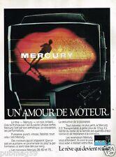 Publicité advertising 1984 Moteur Bateau Hors Bord Mercury