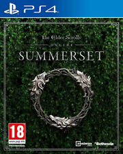 The Elder Scrolls Online Summerset PlayStation 4 Ps4 UK