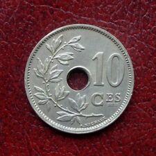 Belgium 1901 copper-nickel 25 centimes