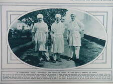 1915 VERMIN-PROOF NURSES LADY PAGET'S HOSPITAL AT USKUB SKOPLJE SERBIA WWI WW1