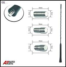 Flessibile Nero antenna auto Bee Sting Mast Antenna Arial Radio AM FM TETTO 41 cm