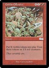 GOBLIN OFFENSIVE Urza's Saga MTG Red Sorcery Unc