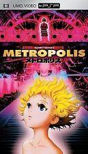 Metropolis (UMD, 2006) Factory Sealed New!! Animated Anime